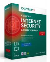Программное Обеспечение Kaspersky Internet Security Multi-Device Russian Ed 3устр 1Y Base Box (KL1941RBCFS)